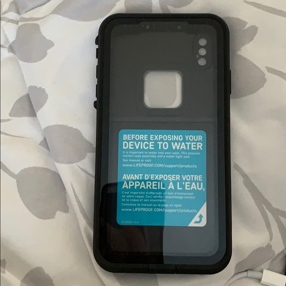 iphone xs max life proof case *brand new*